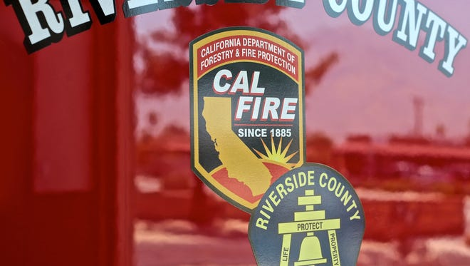 Firefighters quickly extinguished a fire in Thermal Wednesday.