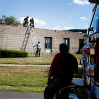 Town and Country Fire Department responded to Elcor in Horseheads Saturday after for a report of a fire.