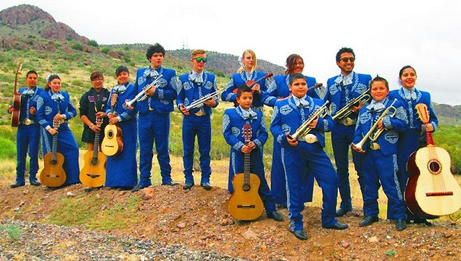 The Deming High School Mariachi Ensemble will perform during Rockhound State Park's annual mariachi event.
