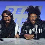 Key in Peele in character for the Squarespace ad via YouTube