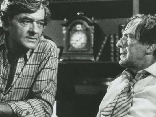 "Hal Holbrook (left) and Fritz Weaver star in 1982's ""Creepshow."""