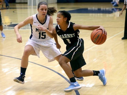 Bishop Kearney freshman point guard Marianna Freeman averaged 15 points last year on varsity.