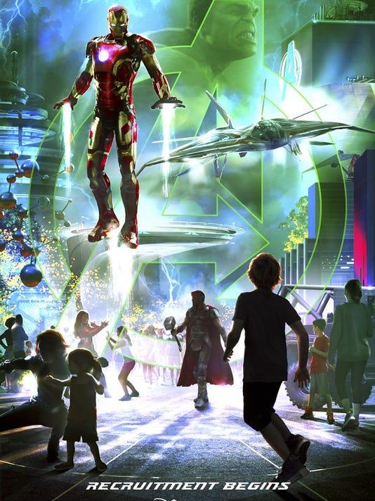 Marvel at Disneyland