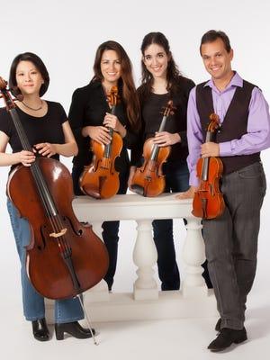 The Artist Series will present the Carpe Diem String Quartet in concert Sunday, January 24