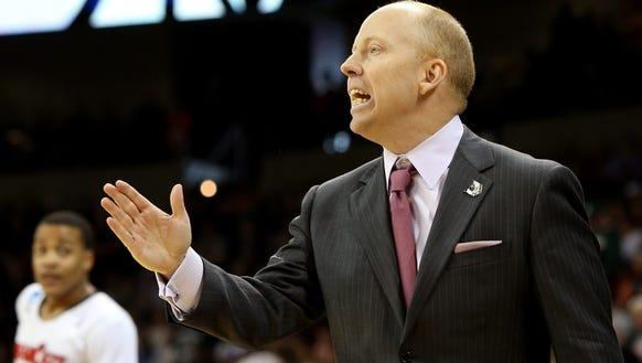 Cincinnati head coach Mick Cronin says Deshaun Morman