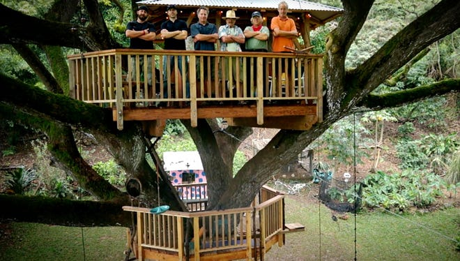 """The """"Treehouse Guys"""" are looking for Asheville residents looking to build their dream treehouse."""