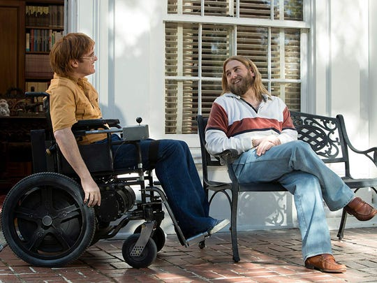 """Joaquin Phoenix (left) and Jonah Hill star in """"Don't"""