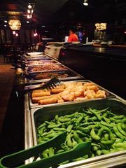 Tokyo Live's weekend brunch buffet includes sushi and
