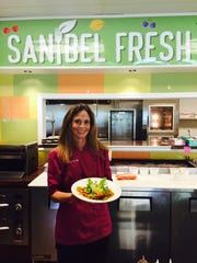 Amy Visco Schmicker is the executive chef at Sanibel Fresh and brings a philosophy of healthy eating and sustainability to the restaurant.