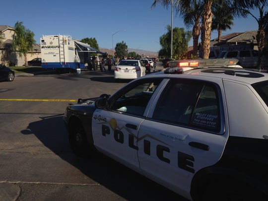 At about 11:30 a.m. an unidentified man was fatally shot by a Riverside County sheriff's deputy in Coachella, according to spokesman Sgt. Mike Manning.