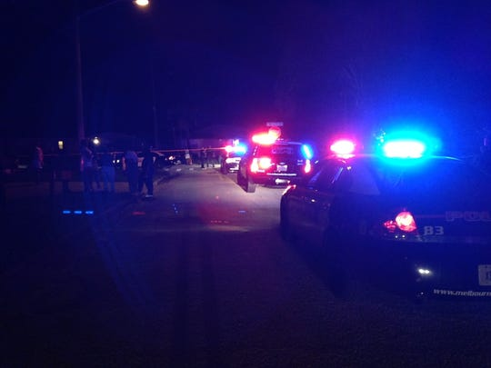 Police are investigating a shooting in the neighborhood surrounding Southland Avenue and Coleman Street in Melbourne.