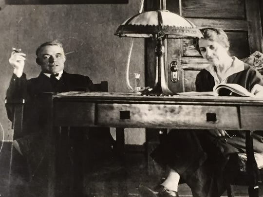Andrew Kehoe, left, and his wife, Nellie Kehoe.