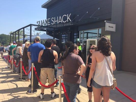 Shake Shack opening