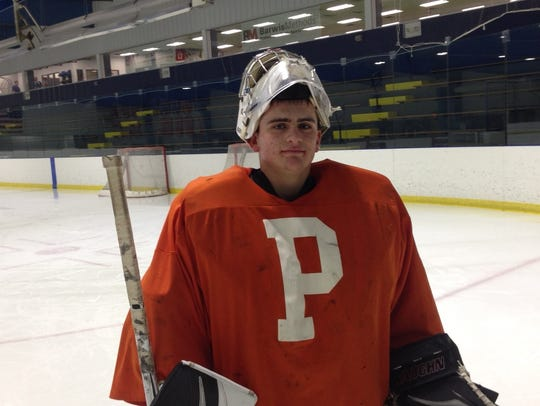 Brendan Olepa just closed out a stellar goaltending career with the Plymouth Wildcats.
