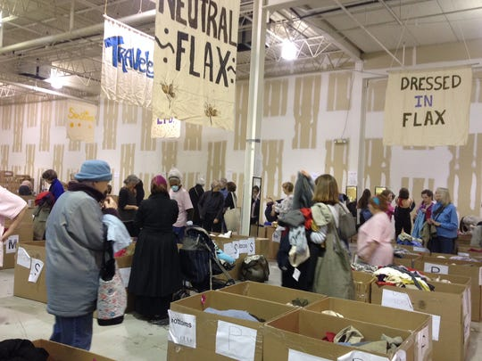 The Flax Barn Sale in Ithaca