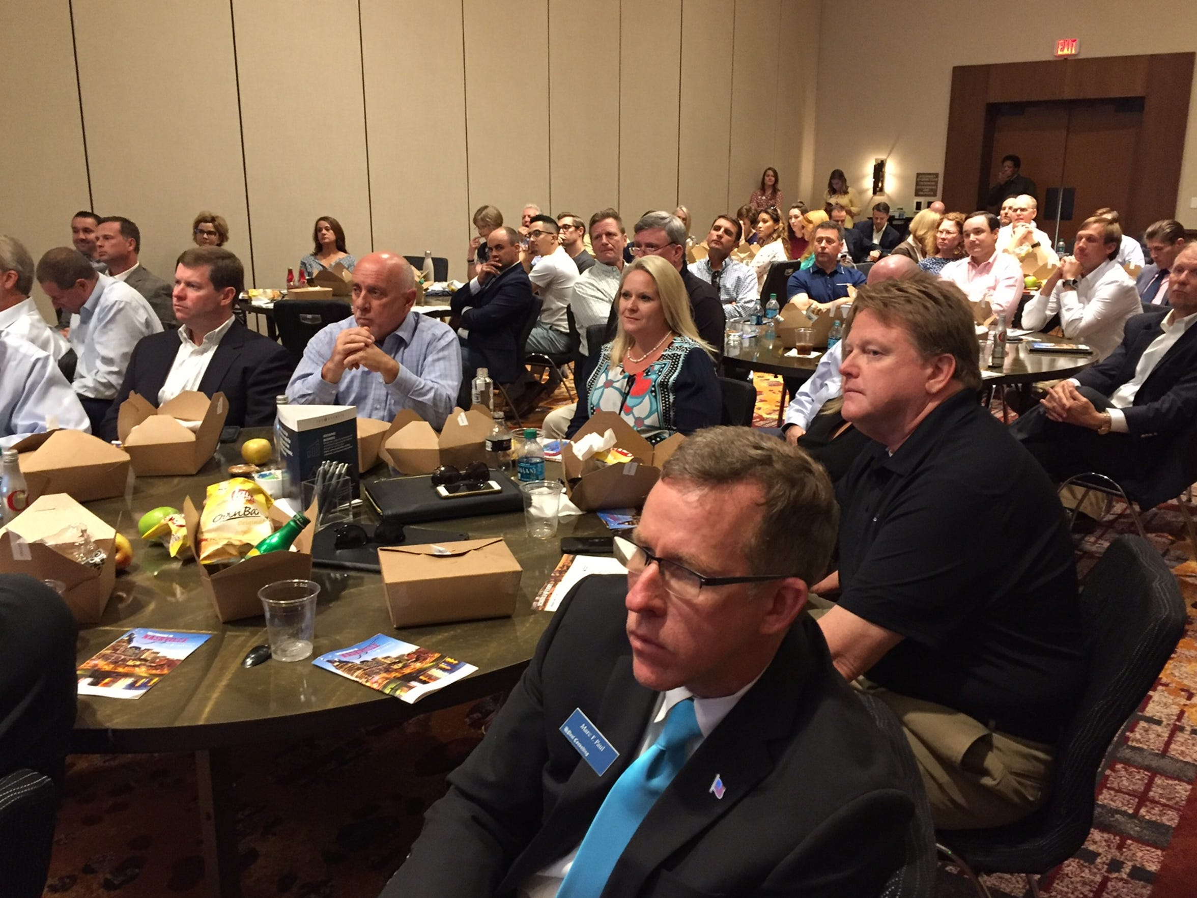 More than 80 of Tallahassee's business, government and economic leaders traveled to Nashville, Tennessee, during an inter-city recon trip hosted by the Tallahassee Chamber of Commerce.