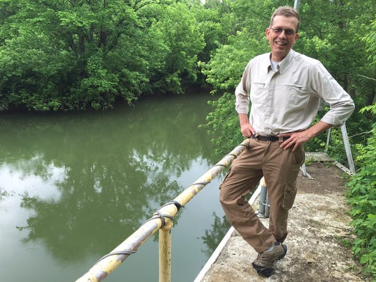 Louisville resident Jeff Frank has recently formed a new group, Friends of Floyds Fork, to advocate for the popular waterway.