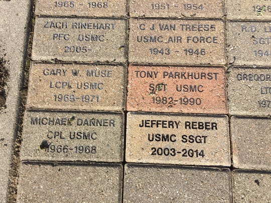 Jeffery Reber's brick