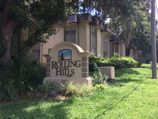 Rolling Hills Apartments mug