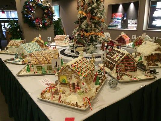 MSU Gingerbread House contest