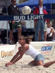 Beach volleyball is returning to Pensacola Beach with an open division co-ed tournament as part of the DeLuna Beach Games event on April 28 in the area behind Flounders on Quietwater Beach
