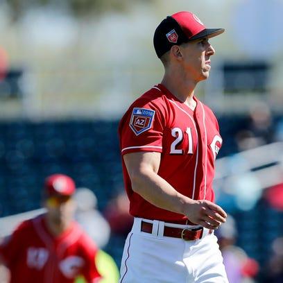 Cincinnati Reds fall short in a comeback attempt against Milwaukee Brewers