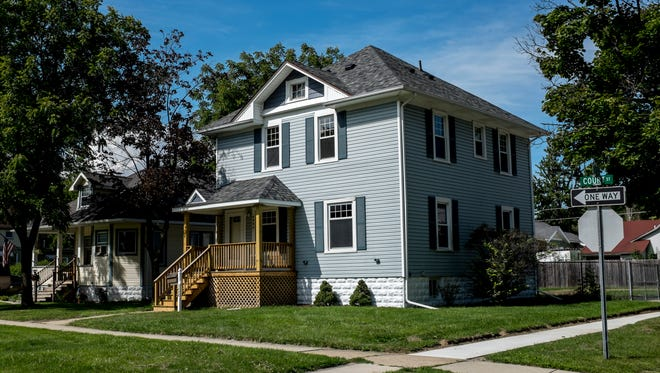 1203 Court Street, in Port Huron, is up for sale after being renovated as part of the city's affordable housing program that uses federal HOME dollars to rehabilitate homes.