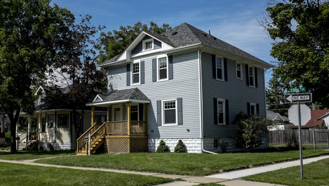 1203 Court St., in Port Huron, was up for sale in September after being renovated as part of the city's affordable housing program that uses federal HOME dollars to rehabilitate homes.