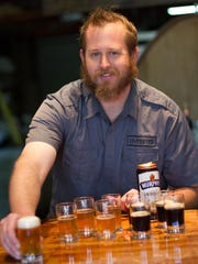 Matt Johnson is co-owner of IMBĪB Custom Brews, which won several medals, including three golds, at the 2018 Best of Craft Beer Awards Jan 26-28, 2018, in Bend, Ore.