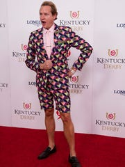 TV Personality Carson Kressley on the red carpet at the 2016 Kentucky Derby