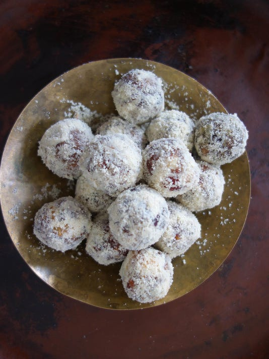 Food Worlds Fare Date and Almond Balls