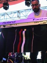 Apr 16, 2017; Indio, CA, USA; Ocho Ojos performs during
