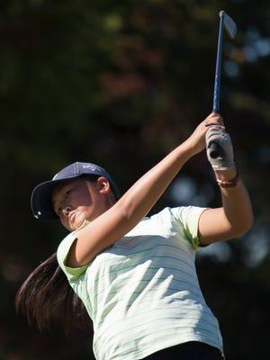 Lara Yeung of Moorpark was the MVP of the Coastal Canyon League.
