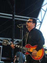 Los Lobos, seen performing at the recent Stagecoach country music festival at the Empire Polo Club, will play Fantasy Springs Resort Casino during the first Coachella weekend.