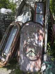 Recycling the Past, a business that sells items of
