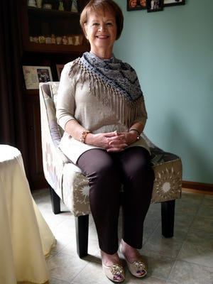 Mary Ann Pilbean, in her home, Tuesday, Sep. 19, 2017 in Louisville Ky.