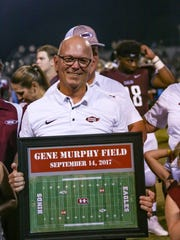 Gene Murphy, who retired in August as Hinds Community