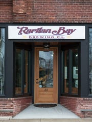 Entrance to Raritan Bay Brewing in Keansburg