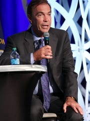 Craig Bouchard, then-CEO of Braidy Industries, addressed the crowd during the Governor's Local Issues Luncheon at the Galt House on Aug. 24, 2017.