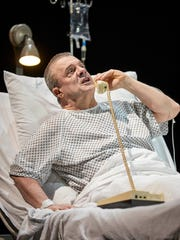 "Nathan Lane in ""Angels in America: Perestroika."""
