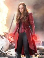 "As Scarlet Witch, Wanda Maximoff (Elizabeth Olsen) showed off her powers in ""Captain America: Civil War."""