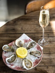 Look for $1 oysters during happy hour on Tuesdays,