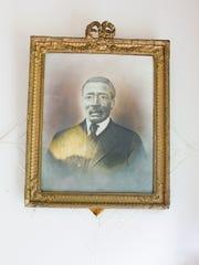 A portrait of William Muir hangs in the Muir Chapel in Eastwood.