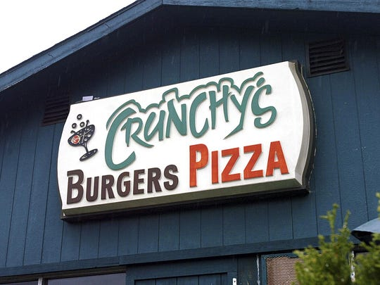 The meters near Crunchy's, 254 W. Grand River,  will still stop at 6 p.m. because there is no other parking in the area.