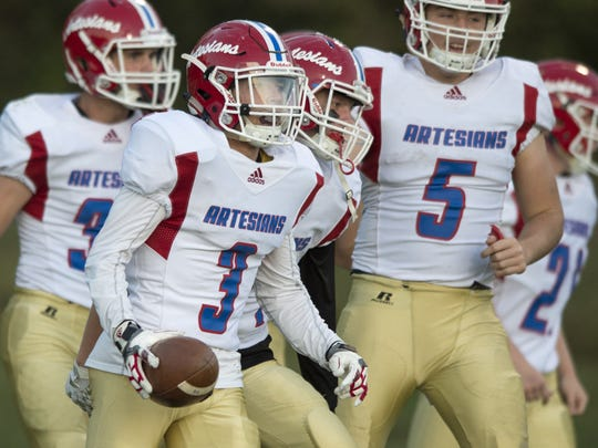 Martinsville has won five straight after starting the season 0-4 in Carter Whitson's first season as coach.