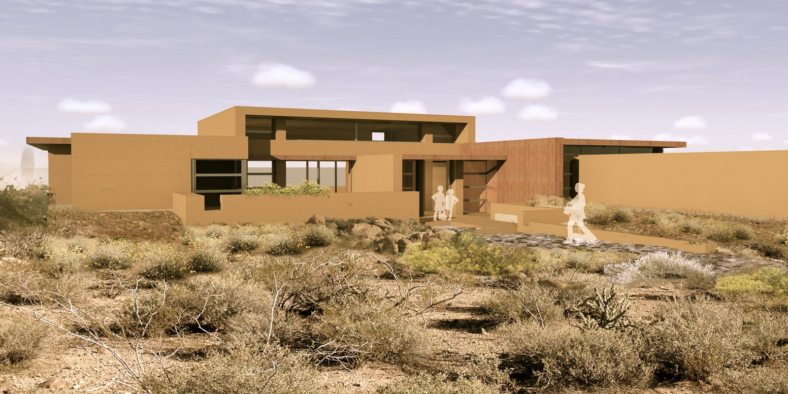Frank Lloyd Wright Inspired Houses frank lloyd wright-inspired homes going up in cave creek