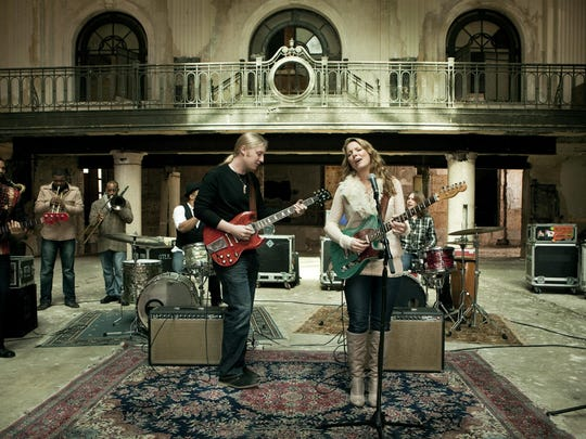 Tedeschi Trucks Band is booked for Meadow Brook Amphitheatre on July 23.