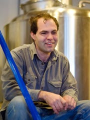 Shaun Hill, founder and brewer at Hill Farmstead Brewery, at his Greensboro brewery in 2013.