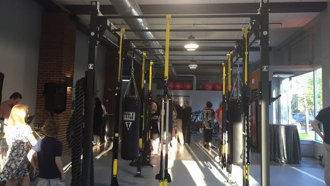 A peek at the new M/Body microgym during its official grand opening on University Avenue in Rochester.