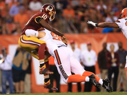 NFL: Preseason-Washington Redskins at Cleveland Browns